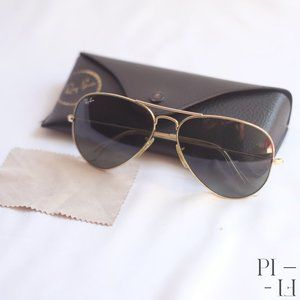 Authentic Ray-Ban sunglasses aviator style 58mm
